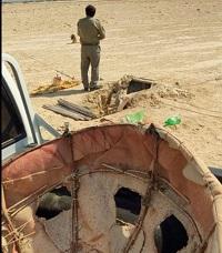تخریب یک باب کوخه در کنگان