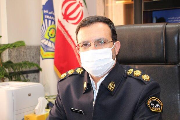 سهم مردان در تصادفات استان اصفهان ۶۵ درصد است