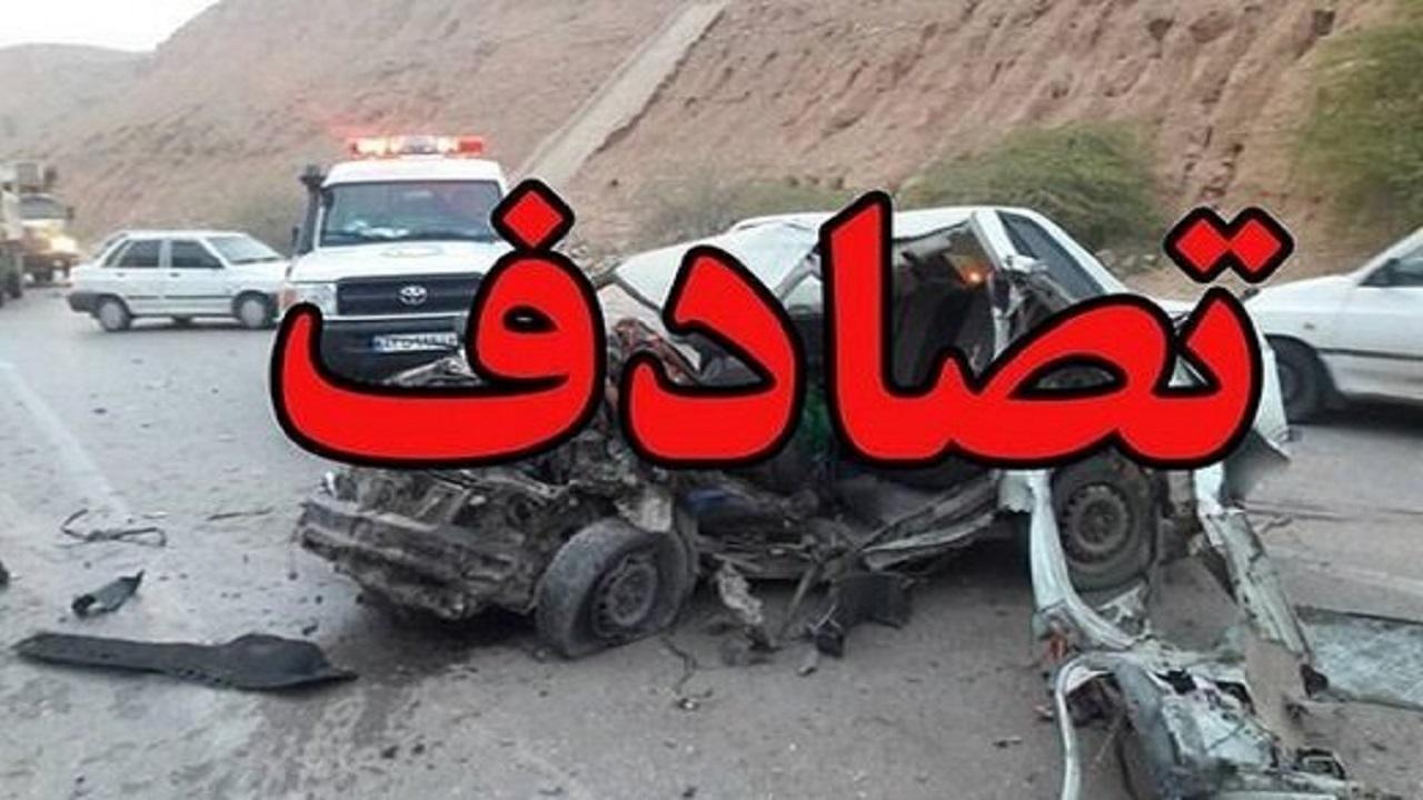 واژگونی سواری پژو پارس یک کشته برجای گذاشت