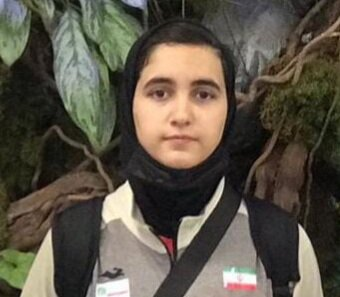 نایب قهرمانی دختر پینگپنگباز ایران در مسابقات عمان