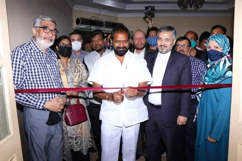 نمایشگاه فرهنگی و هنری شیراز در حیدرآباد هند افتتاح شد