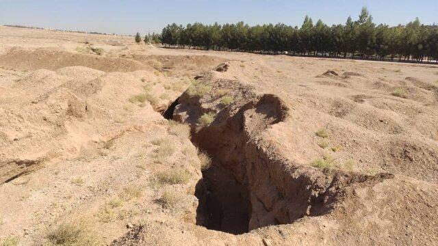 شکافهای سپاهانشهر اصفهان هیچ ارتباطی با پدیده فرونشست ندارند