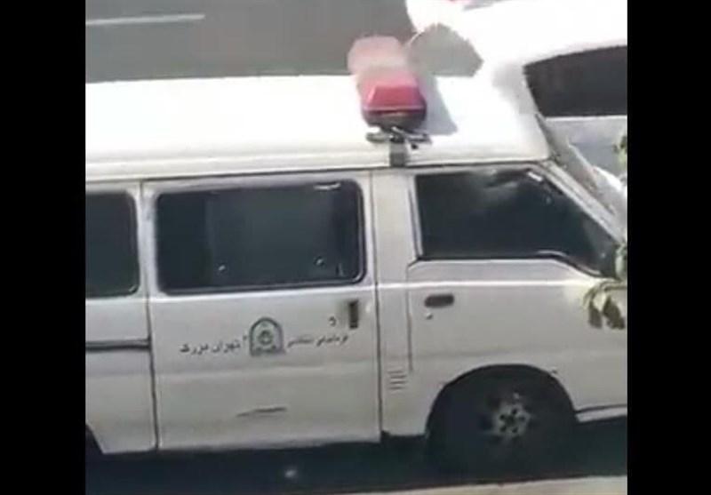 واکنش پلیس امنیت پایتخت به انتشار فیلم دستگیری یک خانم