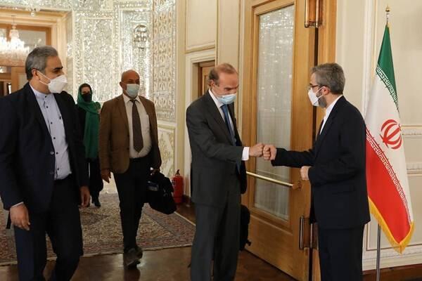 دیدار «انریکه مورا» با علی باقری در تهران