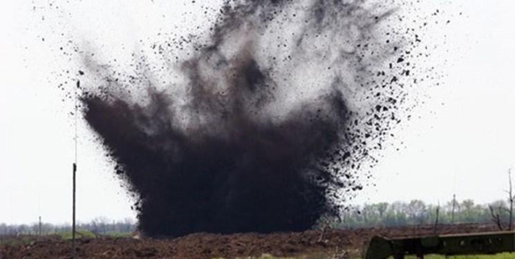 انفجار مین در نوسود یک نفر را زخمی کرد