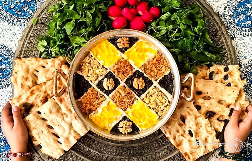 غذاهای ایرانی خوشمزه، بدون یک وجب روغن!