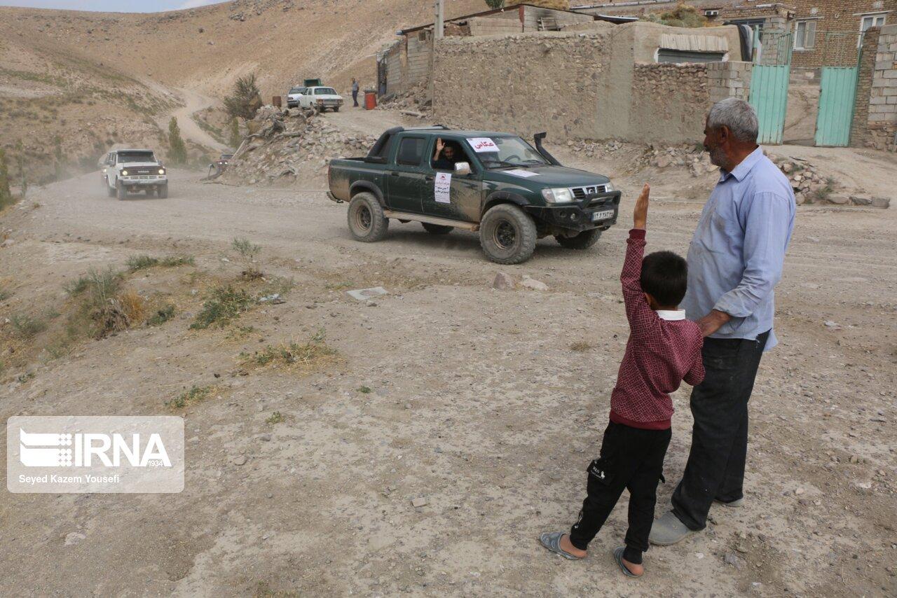 تصاویری جذاب از مسابقه اتومبیلرانی تورینگ سافاری در تبریز