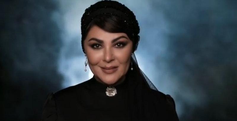 ویدیویی از تبلیغ یک برند لوازم آرایشی توسط لاله اسکندری