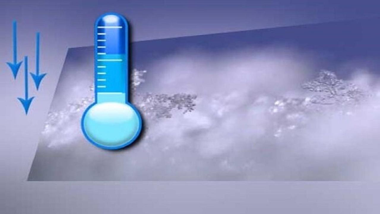 کاهش دمای هوا در استان اصفهان