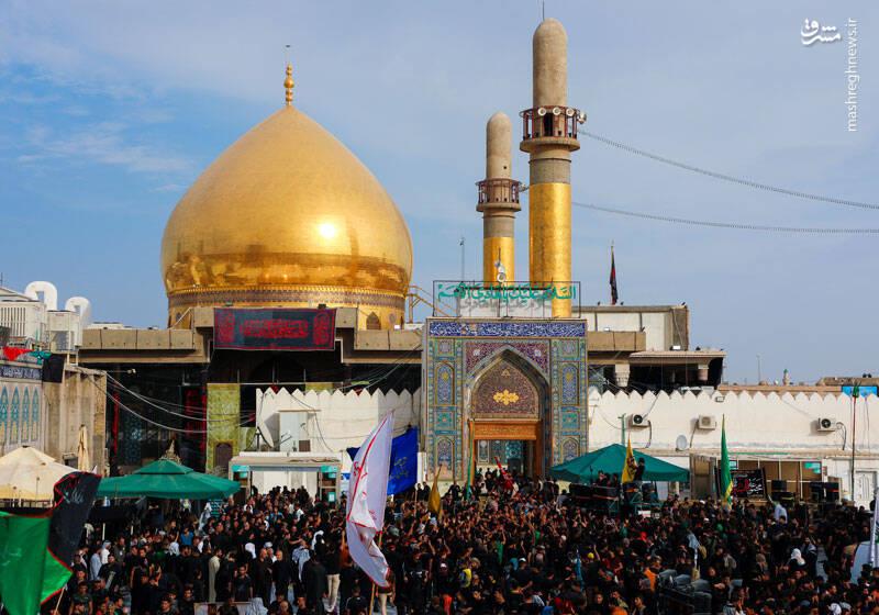 حضور انبوه زائران و عاشقان اهل بیت در حرمین عسکریین