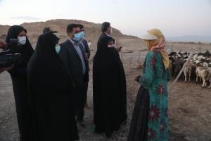 دیدار معاون رئیسجمهور با بانوان عشایر شهرستان بیضا