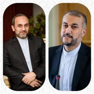 دیدار و رایزنی وزیر خارجه با رئیس جدید صداوسیما