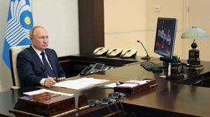 پوتین: در به رسمیت شناختن طالبان شتاب نمی کنیم