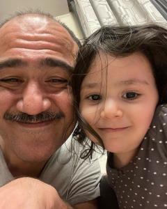 چهرهها/ مهران غفوریان و دخترش هانا