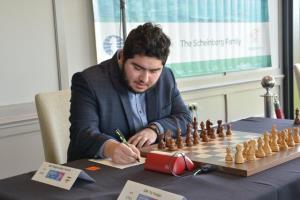 تساوی پرهام مقصودلو در دور چهارم لیگ برتر شطرنج اسپانیا