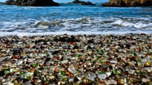 ساحل شیشهای روسیه؛ یک جاذبه گردشگری زیبا و عجیب