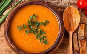 سوپ مرغی خوشمزه با بلغور گندم