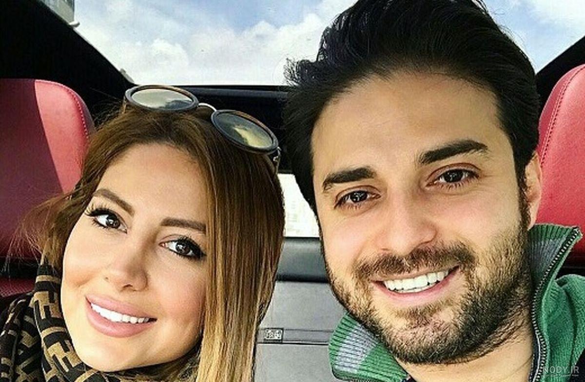 چهرهها/ آفرود سواری بابک جهانبخش و همسرش در طبیعت