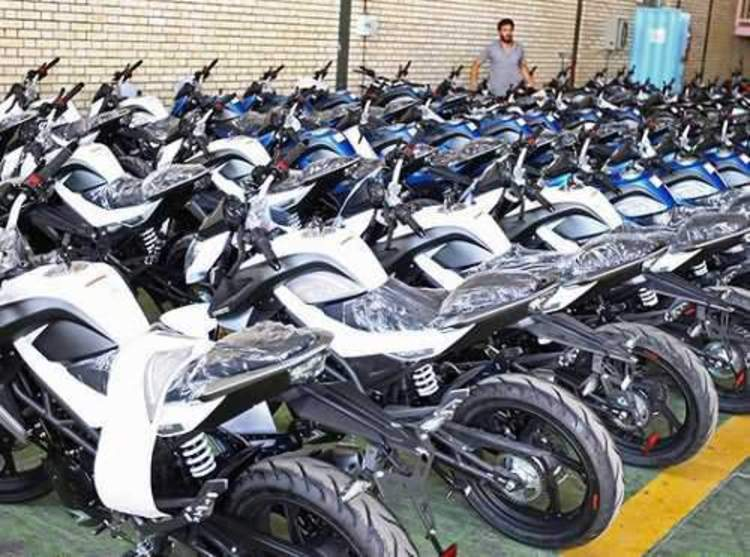 قیمت انواع موتورسیکلت در ۲۳ مهر ۱۴۰۰