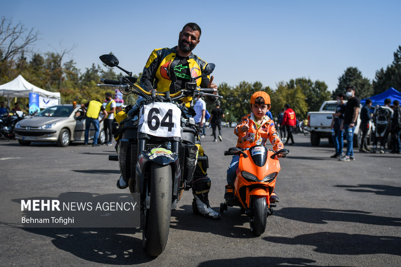 راند اول مسابقات موتور ریس