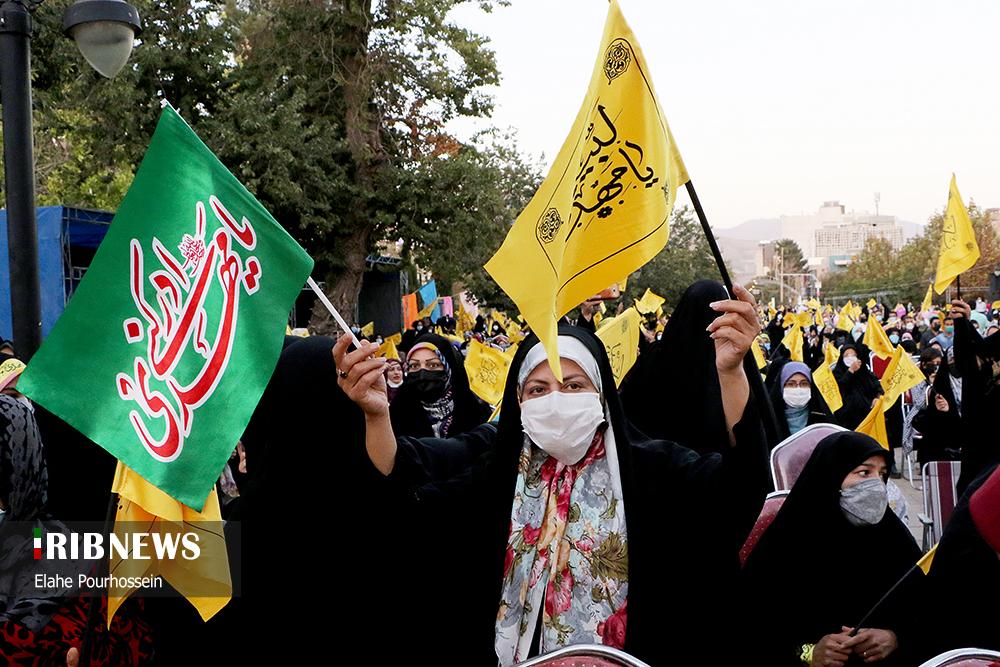 اجتماع بزرگ بیعت با امام زمان (عج) در شیراز