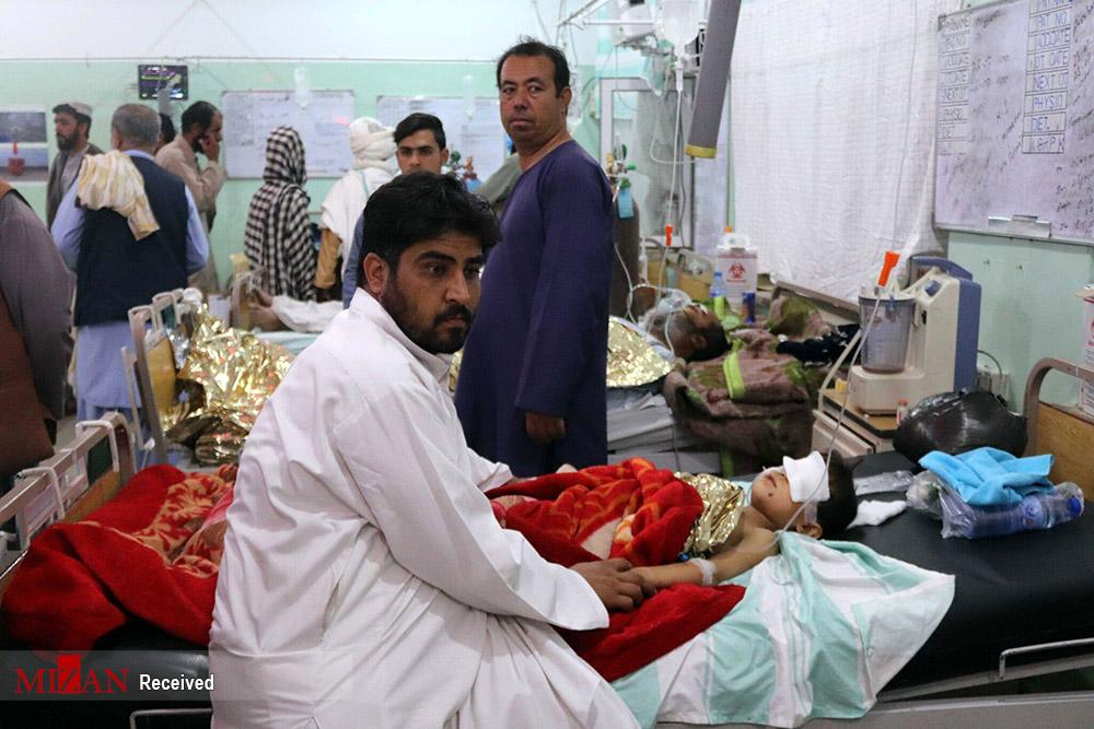 تصاویر جدید از حمله انتحاری به بزرگترین مسجد شیعیان در افغانستان