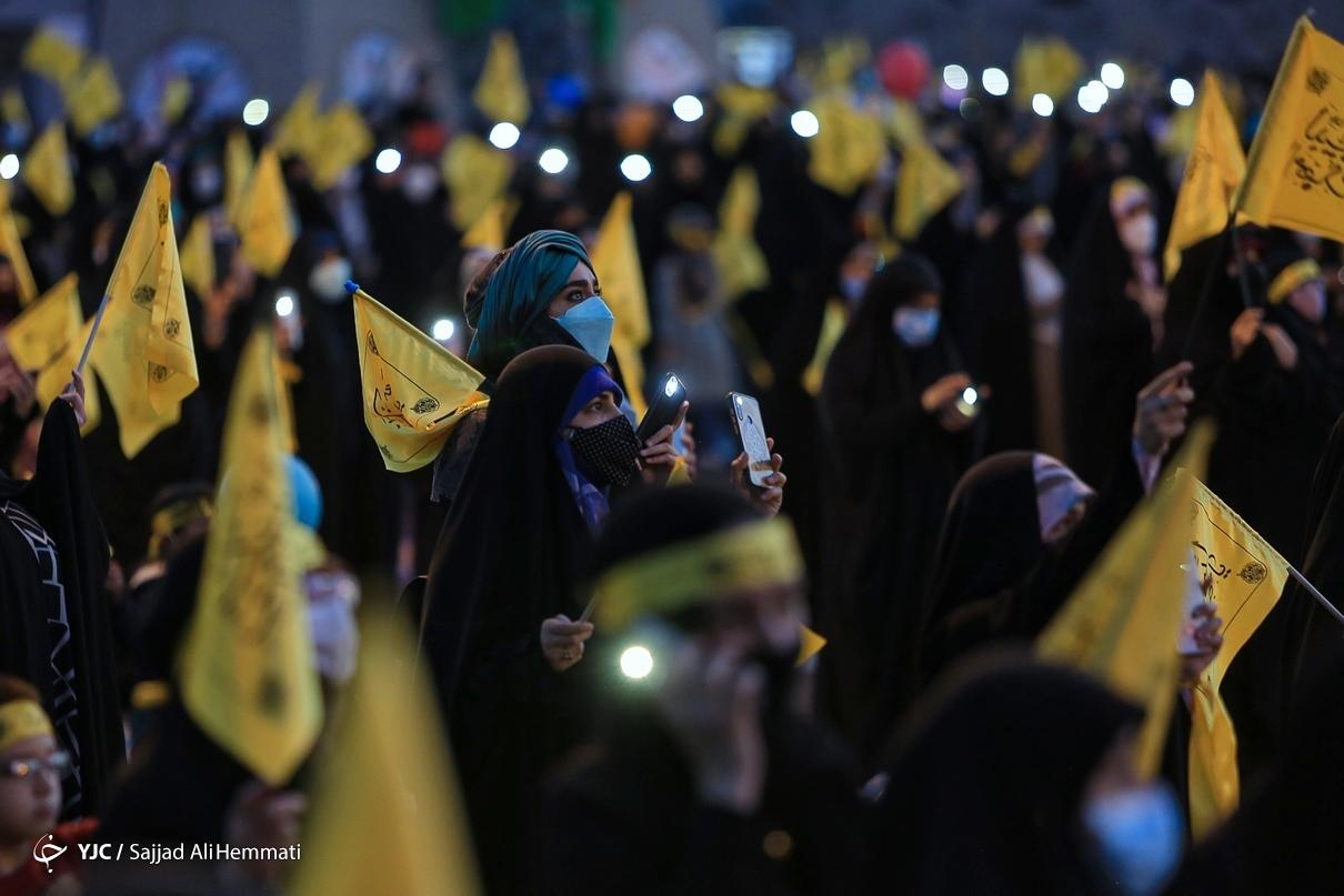 مراسم جشن سالروز آغاز امامت امام زمان (عج) در تهران