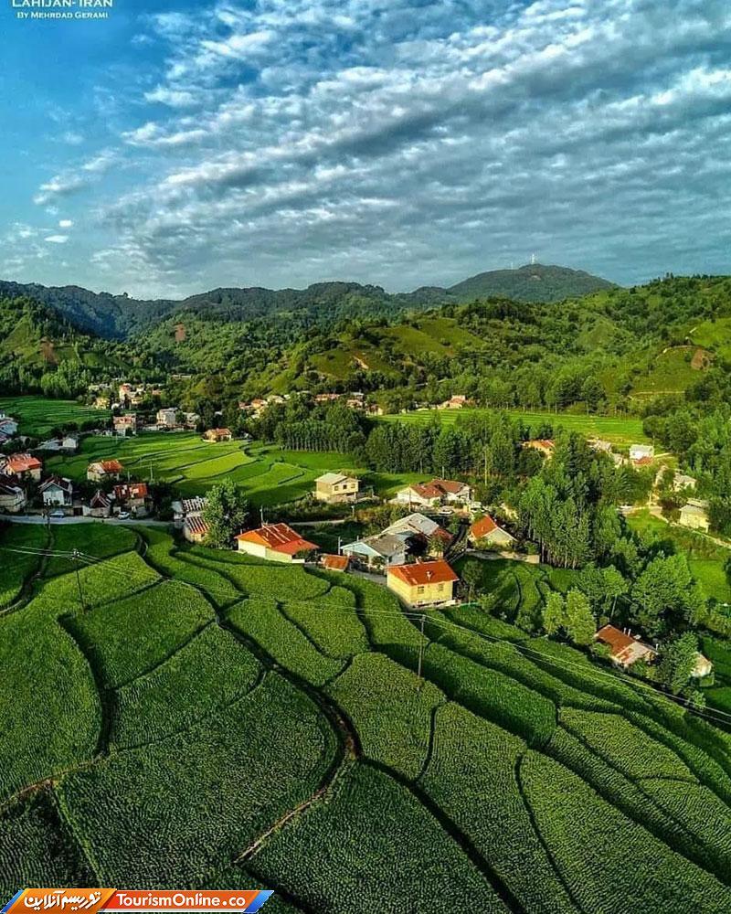 روستای زیبای سطلسر لاهیجان