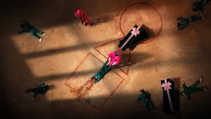 رد پای نقاشی ها در سریال معروف بازی مرکب