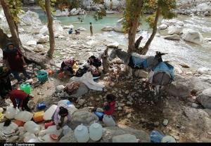 ۱۷ روستای سیلاب و کلوار در کنار رودخانه تشنه ماندهاند
