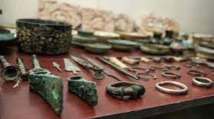 کشف بیش از ۲۰۰ قطعه شیء عتیقه در راز و جرگلان