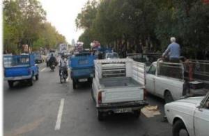 ثبت نام رانندگان وانتبار برای دریافت سهمیه سوخت در شیراز