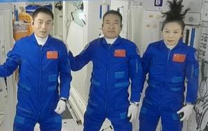 فضانوردان چینی اقامت خود در ایستگاه فضایی را با اتصال به وایفای آغاز کردند