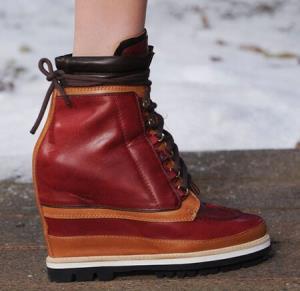 مدل های کفش لژدار