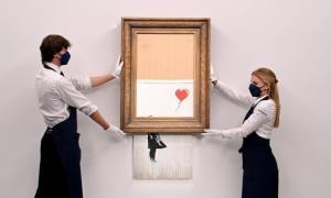 فروش چند میلیون پوندی نقاشی رشتهرشته شده «بنکسی»!