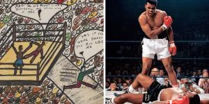 فروش نقاشیهای «محمدعلی کلی» بهقیمت یک میلیون دلار!