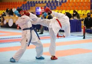 قهرمانی مازندران در مسابقات کاراته انتخابی ردههای پایه دختران