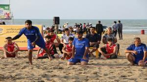 رقابت هندبالیستهای مازندرانی در ساحل بابلسر