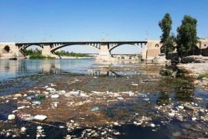 رئیس محیطزیست دزفول: رودخانه دز غرق در فاضلاب است