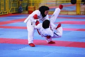 کاراتهکای دختر نوجوان سمنان در مسابقات انتخابی تیم ملی مدال برنز گرفت
