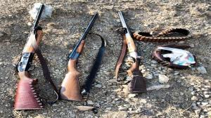 دستگیری شکارچیان متخلف در ارومیه