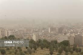 پاییز غبارآلود در راه کرمانشاه است