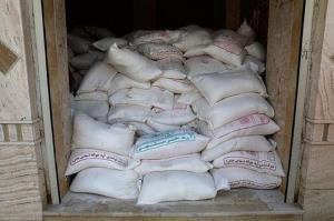 کشف ۳۰ کیسه آرد احتکار شده در شاهینشهر