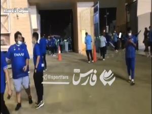 حضور هواداران الهلال در ورزشگاه الملز