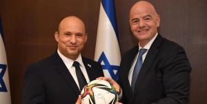جام جهانی روی پیکر شهدای فلسطین!