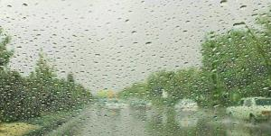 بارش پراکنده باران در اردبیل