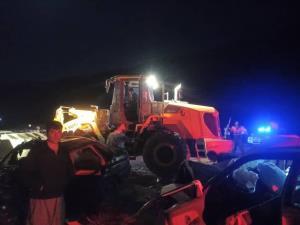 تصادف در محور سروآباد - سنندج ۲ کشته برجای گذاشت