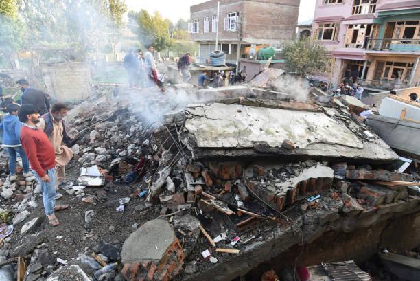 انفجار خانه ای در هند توسط تروریستها