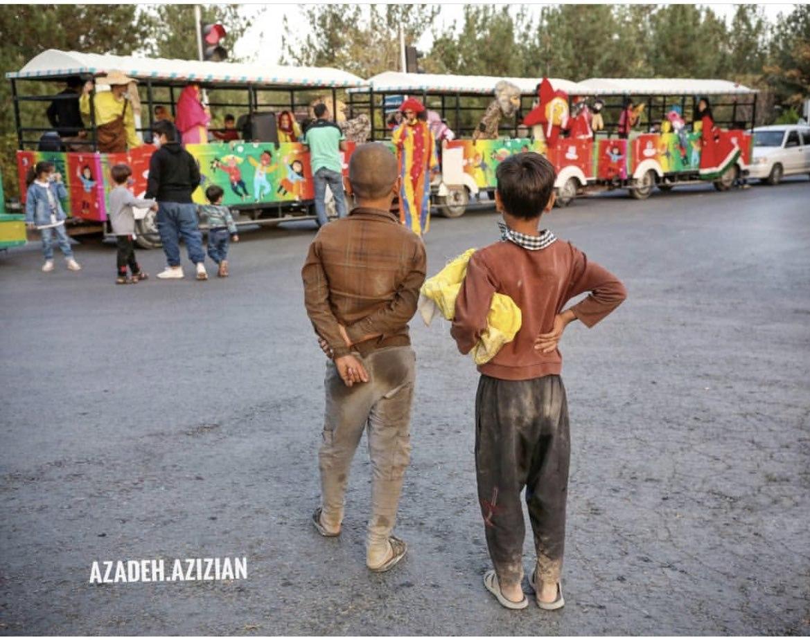 تصویری دردناک از جشنواره کودک و نوجوان در اصفهان
