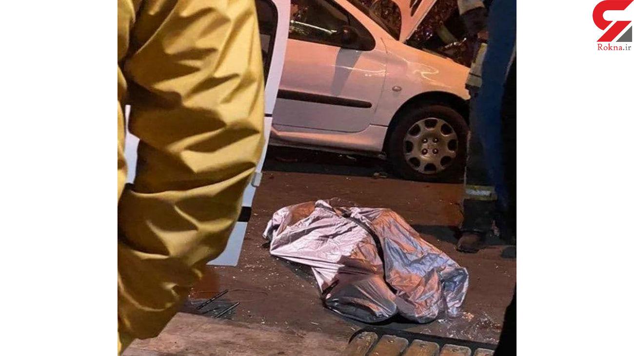 تصادف مرگبار در بلوار وکیلآباد مشهد